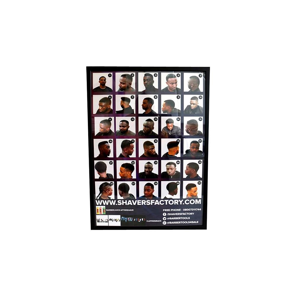 Barper Poster Framed