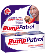 Bump patrol gel