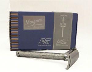 MORGAN'S GENTLE SHAVER SAFETY RAZOR