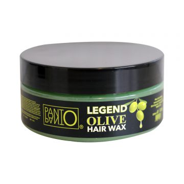 legend olive hair wax