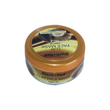 BLACK & RED CLAY FACE MASK ARGAN OIL 400G
