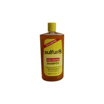 SULFUR8 DEEP CLEANSING SHAMPOO 340ML