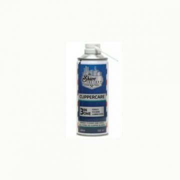 THE SHAVE FACTORY CLIPPERCARE 3-IN-1 SPRAY 400ML