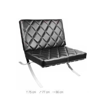 Barber Waiting Chair HB339