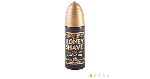 Royal Jelly Honey Shaving Oil