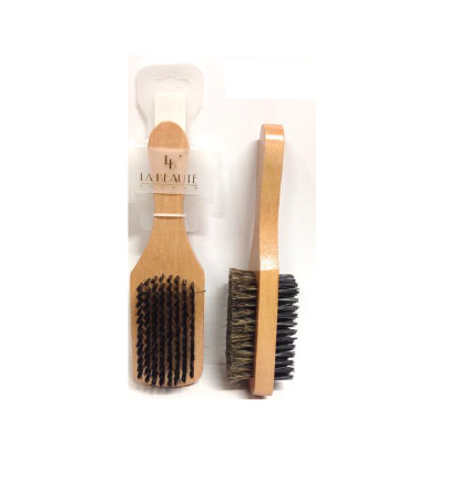 Labeaute Double Sided Wooden Hair Brush Soft 8458144
