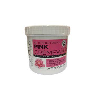 Lansilk Pink Creme Wax L104 425ml