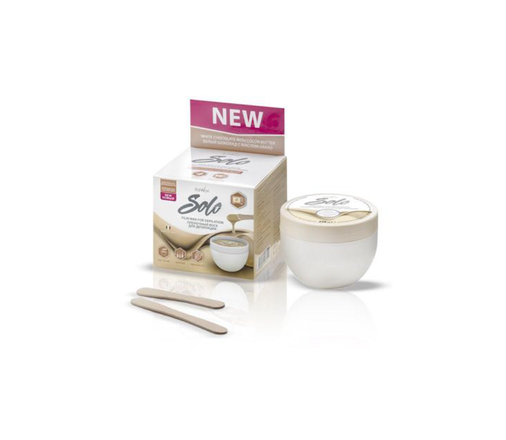 ITALWAX SOLO MICROWAVEABLE FILMWAX WHITE CHOCOLATE WITH COCOA BUTTER