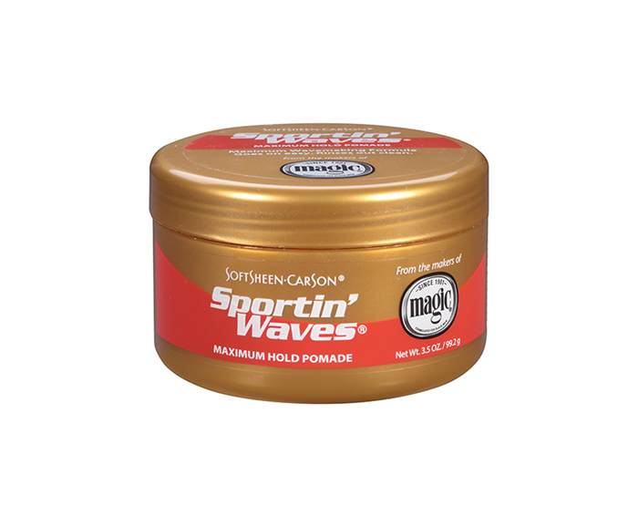 Sportin Waves Maximum Hold Pomade (Gold) by SoftSheen Carson