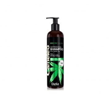 Delia Cameleo – VEGAN GREEN WITH HEMP OIL – Shampoo – 250ml