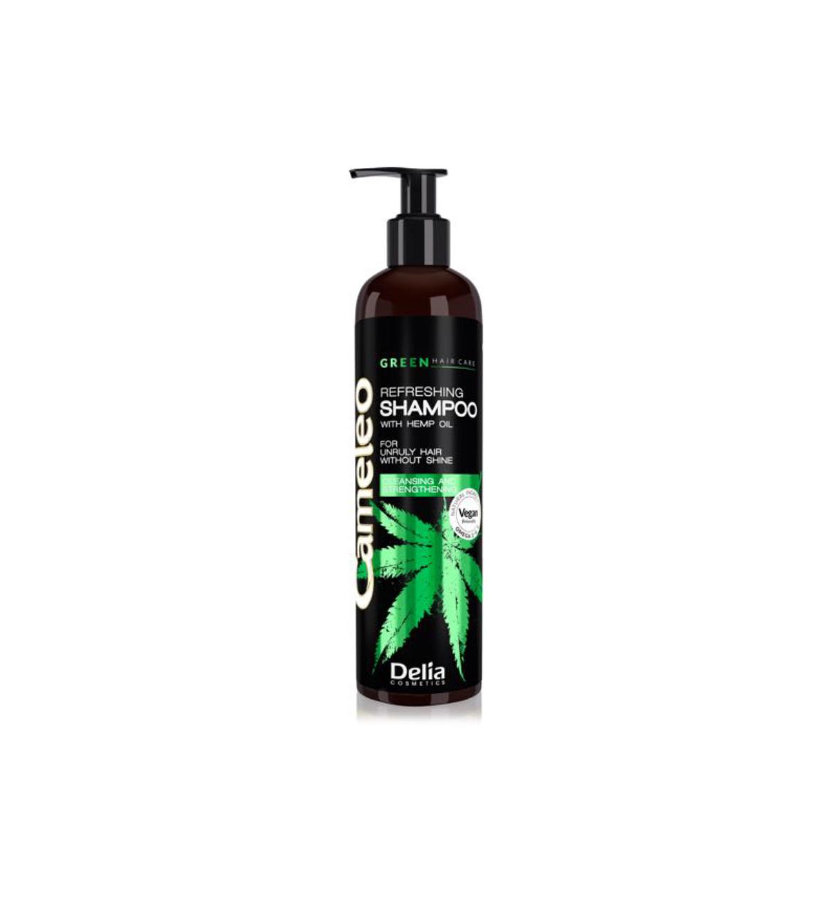 Delia Cameleo - VEGAN GREEN WITH HEMP OIL - Shampoo