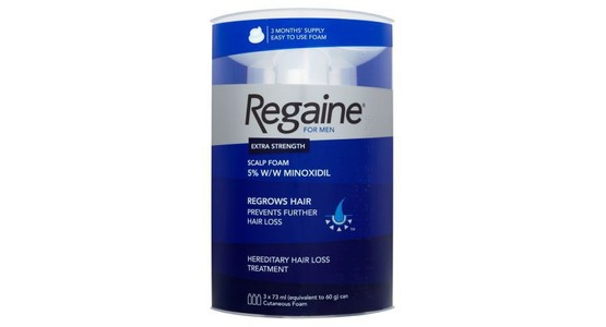 Regaine for Men Extra Strength Hair Regrowth Foam