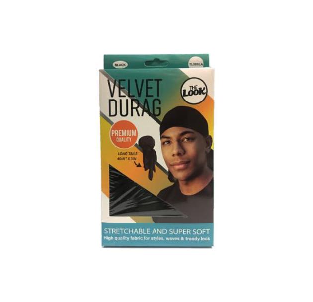 THE LOOK VELVET DURAG CAP TL14
