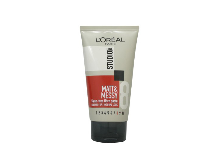 L'Oreal Paris Studio Line Matt & Messy Shine-Free Fibre Paste 150ml