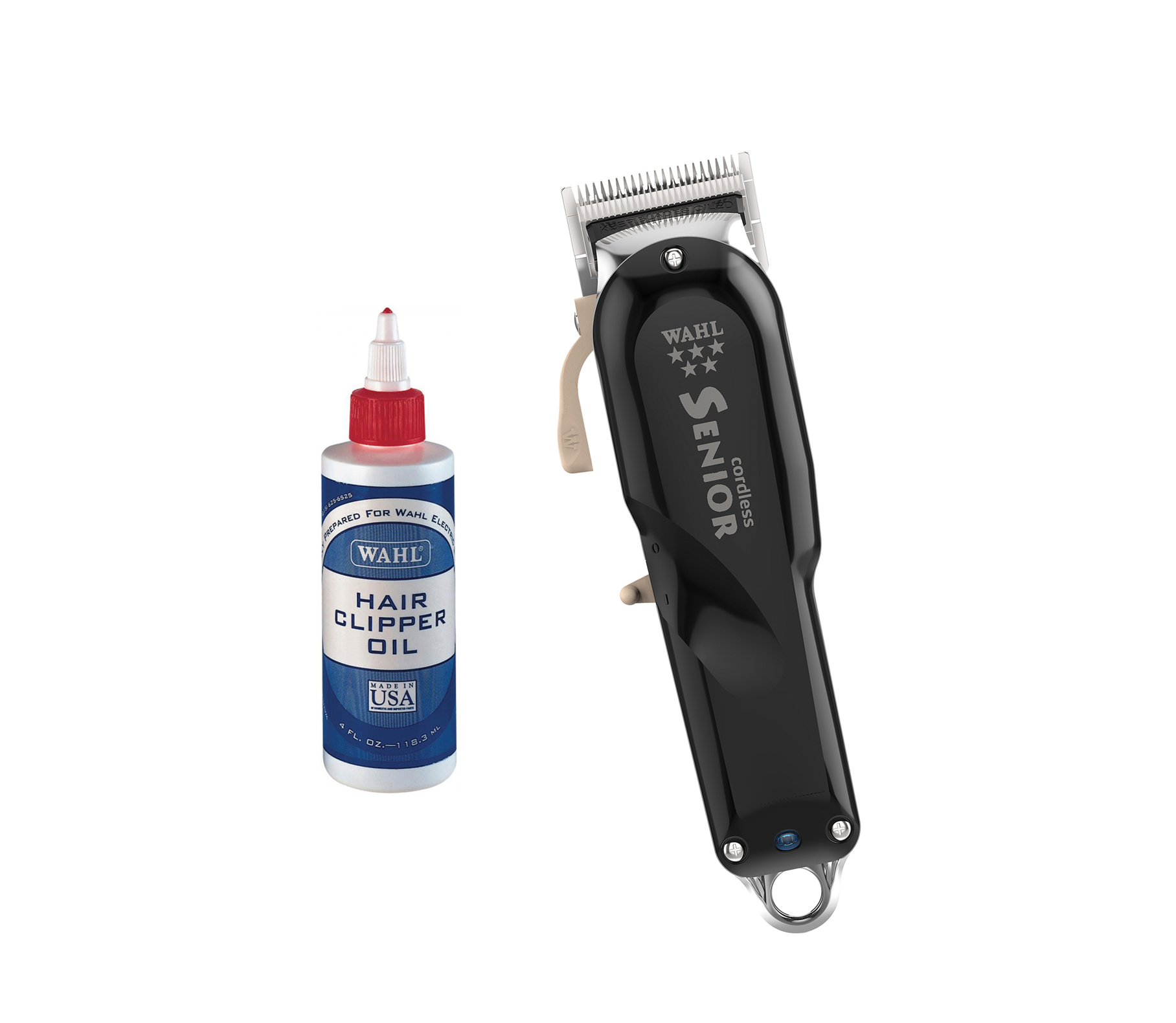 Wahl Cordless Senior Clipper With Wahl Clipper Oil