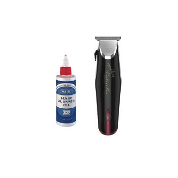 Wahl Professional Cordless Detailer Trimmer With Wahl Clipper Oil
