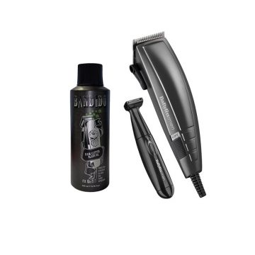 Babyliss Men Smooth Home Hair Cutting Kit With Bandido Clipper Oil