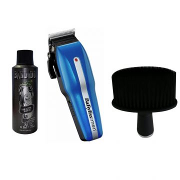 Babyliss Men Power Light Pro 7498CU Hair Clipper With Bandido Clipper Oil & Neck Brush Black G142