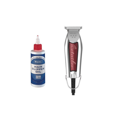 Wahl 5 Star Detailer Trimmer With Wahl Clipper Oil