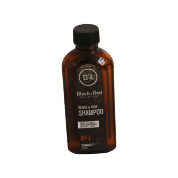 Black & Red Collection | Beard and Hair Shampoo | Size 150ml
