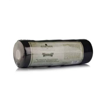 Gordon | Water Repellent Neck Paper | 5 Rolls, Each 100 Strips | Black